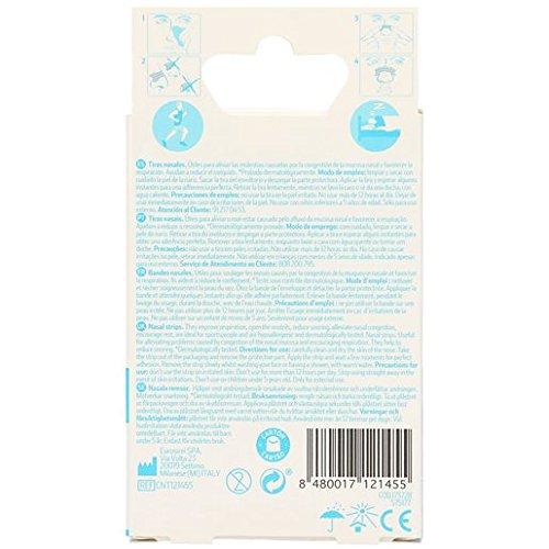 BONTE tiras nasales mejoran la respiración caja 10 uds: Amazon.es: Salud y cuidado personal