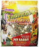 Image of F.M.Brown's Tropical Carnival Rabbit Food, 10-Pound Package
