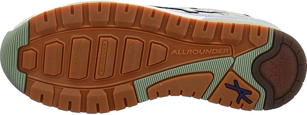 Allrounder by Mephisto Vitesse, Zapatillas de Running para Mujer Verde Swamp High Risk C Suede 26 Ax Mesh N 26 zHRO6