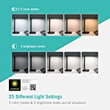 TaoTronics TT-DL029 LED Desk Lamp with USB Charging Port, 5 Color Temperatures and 5 Brightness Levels, Night Light Mode, 1H Timer, 12W, Black, Official Member of Philips Enabled Licensing Program