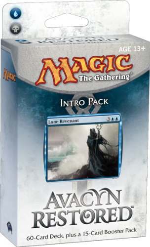 Magic the Gathering: MTG: Avacyn Restored Intro Pack: Solitary Fiends Theme Deck (Blue/Black)
