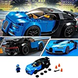 CLKjdz DIY Building Block Toys for Bugatti Racing Car Assembled Model Puzzle Toys