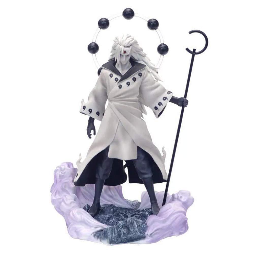 Uchiha Madara Figura Model Naruto Estatua Juguetes Accesorios 26.5cm