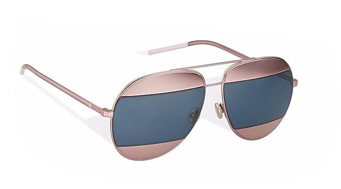 Amazon.com: Auténtico christian dior Split rosa y azul ...