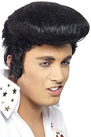 Rockn Roll Elvis Perücke  für Kinder  Karneval