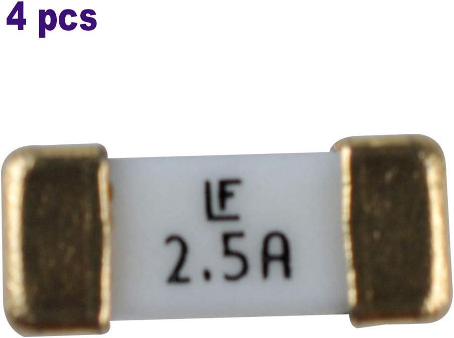 VJ-1304 VJ-1608 2.5A 4pcs Mutoh Mainboard Fuse for Mutoh VJ-1204 VJ-1614 MF-5051 VJ-1638 VJ-1604 RJ-901C RJ-900C