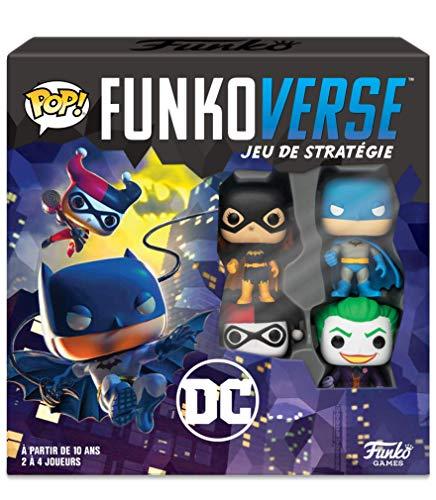 Funko- Pop Funkoverse Gotham City Rumble Board Game, 43462, Multic