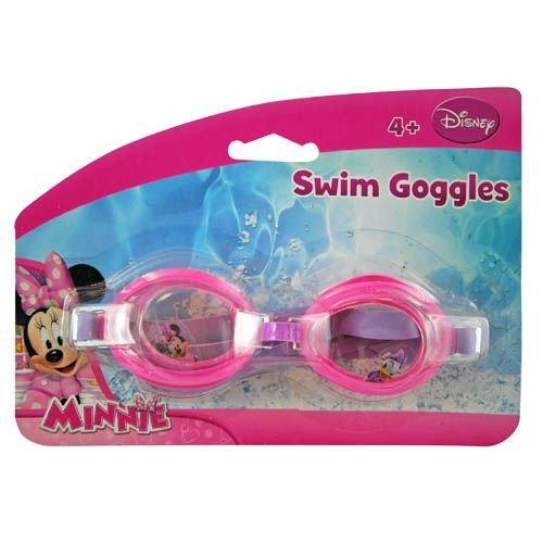 NEW Disney Princess Mickey Cars Dora Minnie Spiderman Doc Ninja Turtle Sofia Jakes Spiderman Children's Goggle (minnie mouse)