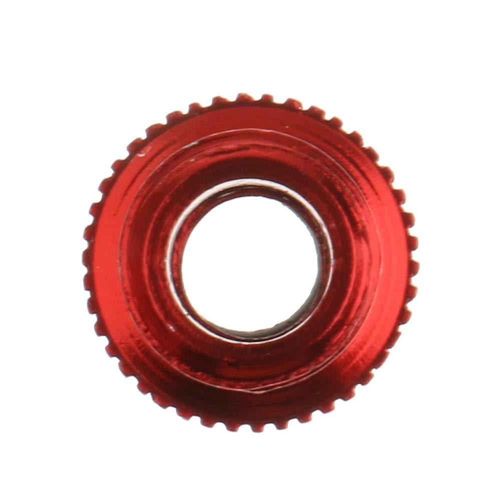 Rojo Nicetruc Un Paquete de neum/ático de la Bici v/ástago de la v/álvula v/álvula de la Rueda del Coche Adaptador de Cap de neum/áticos a Prueba de Polvo para la Bici de la Bicicleta