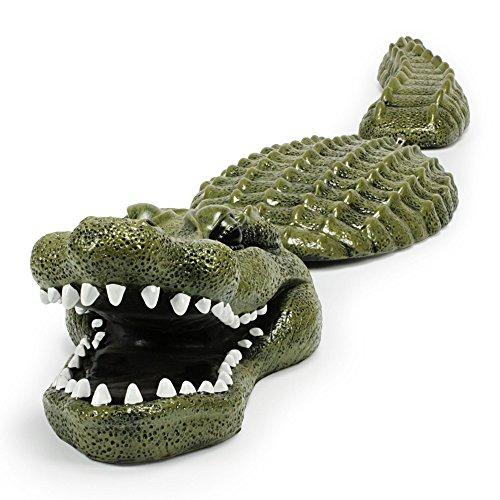 Aquascape Koi Fish Pond Floating Crocodile Alligator Predator Decoy (2 Pack)