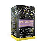 Actif Hair Growth for Men Mega Support 10+, Non-GMO, Stops 99% Hair Loss, Made in USA, 60 Count
