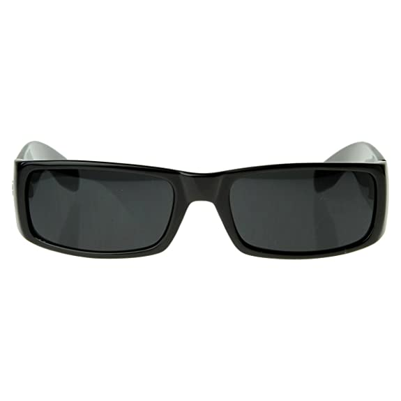 7f7c3b4aea Amazon.com  Locs Sunglasses Black OG Original Gangster Shades Dark Lens NEW  0106  Shoes