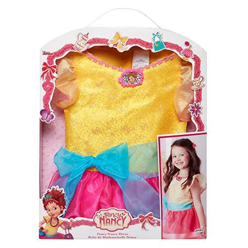 Fancy Nancy Disney Jr Dressup Dress Sizes 4-6X ()