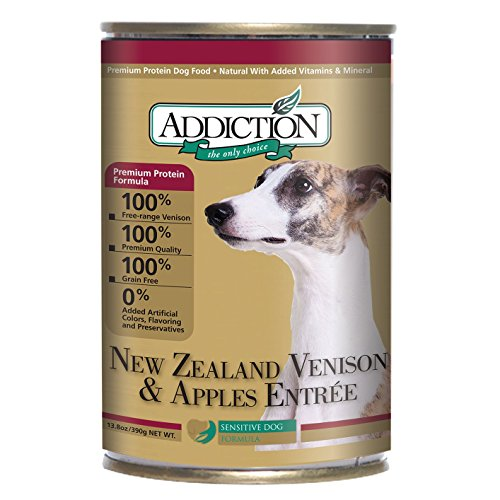 New Zealand Venison And Apples Entrée- Dog Food (13.8 Ounce Cans)