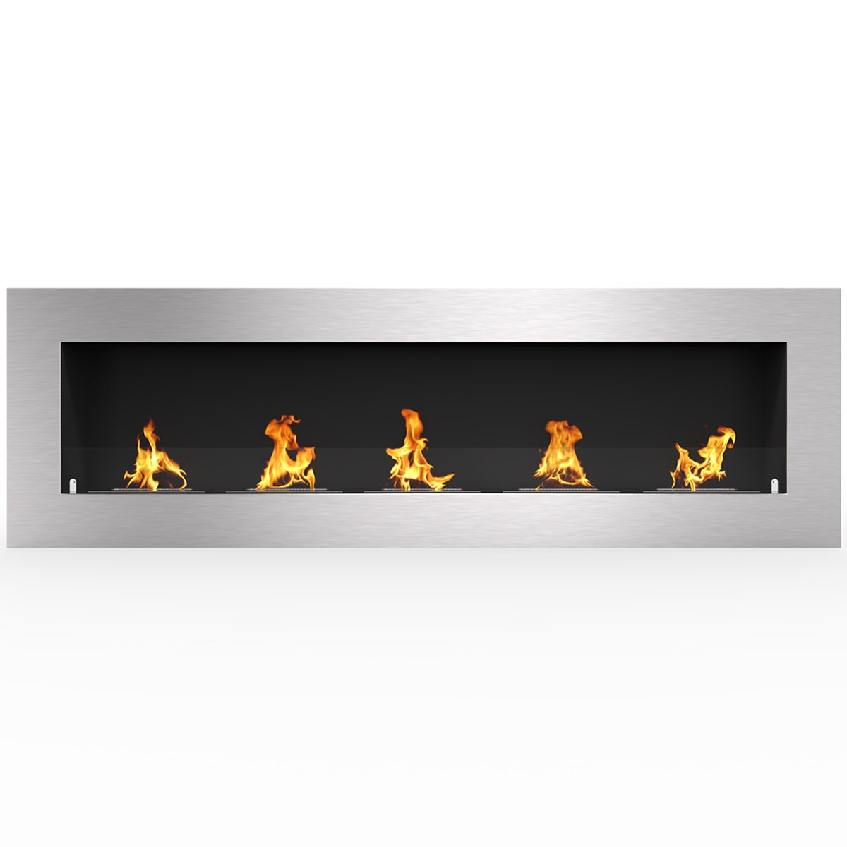Regal Flame Warren 72'' PRO Ventless Built In Wall Recessed Bio Ethanol Wall Mounted Fireplace Similar Electric Fireplaces, Gas Logs, Fireplace Inserts, Log Sets, Gas Fireplaces, Space Heaters, Propane by Regal Flame