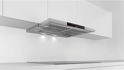 Bosch Serie 8 DFS097K50 - Campana (700 m³/h, Canalizado/Recirculación, A, A, B, 54 dB): 470.48: Amazon.es: Grandes electrodomésticos