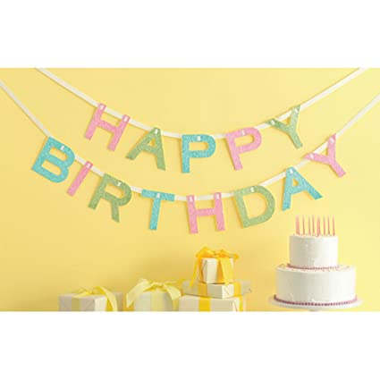 Image Unavailable Not Available For Color Martha Stewart Crafts Happy Birthday Banner