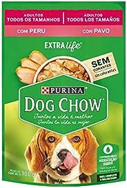 NESTLÉ PURINA Dog Chow Ração Úmida para Cães Adultos Peru ao Molho 100g
