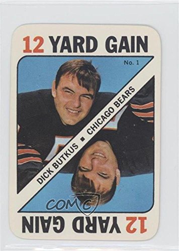 Topps Football 1971 Card (Dick Butkus (Football Card) 1971 Topps Game Cards - [Base] #1)