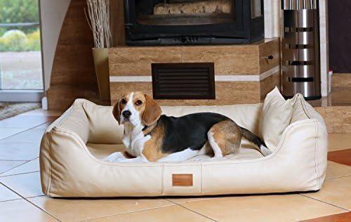 tierlando Articulos ortopedicos Cama para perro Maddox ORTO VISCO de tierlando en Cuero artificial Sofá para perro Cuna para perro Talla XL 120 cm COLOR ...