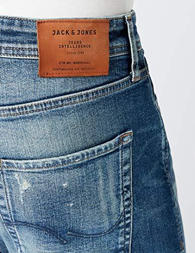 Para Vaqueros Denim Hombre amp; blue Relaxed Jones Jack Azul Opwz4