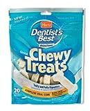 Dentist's Best 20Pk Chewy Treat, Traditional Bone, My Pet Supplies