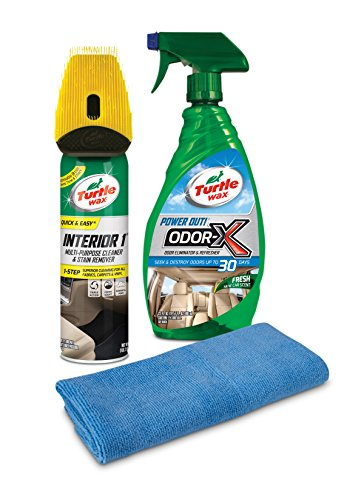 Turtle Wax 50714 Clean and Fresh Kit with Microfiber - Truck Seat Upholstery