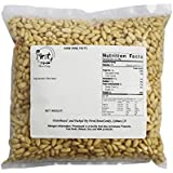First Choice Candy Raw Pine Nuts Bulk Bag, 2 lb.