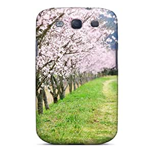 Premium Nature's Lovely Path Back Cover Snap On Case For Galaxy S3