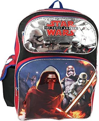 "Disney Star Wars the Force Awakens 16"" Large Backpack"