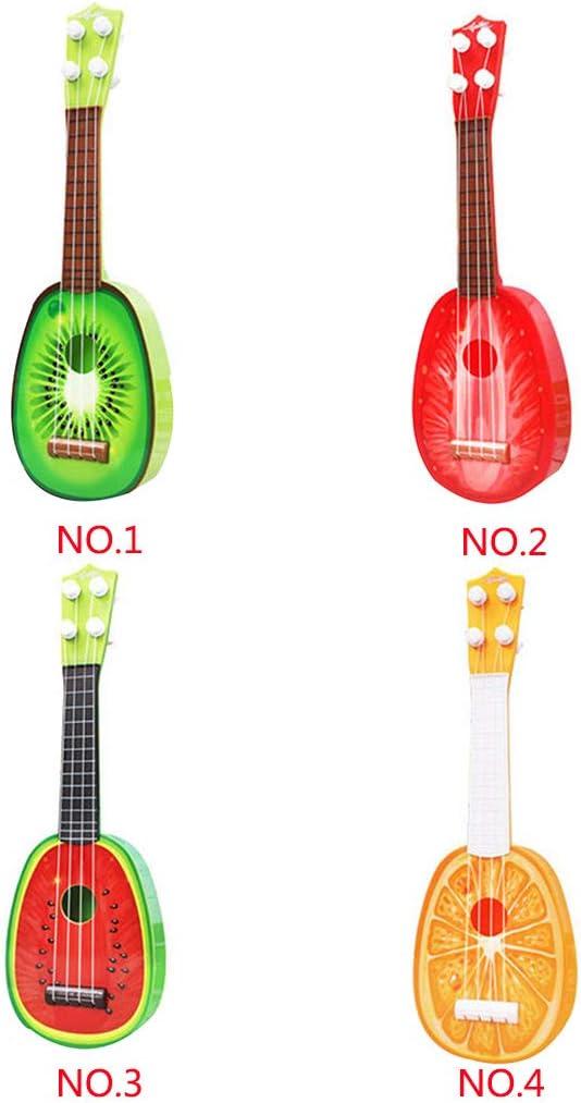 Simulación de frutas Mini Guitarra Sandía Fresa Kiwi Naranja ...