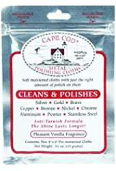 Cape Cod® Metal Polishing Cloths Foil Pouch 0.53oz