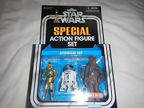Action Figure Target (Star Wars SPECIAL Action Figure Set -Android Set-Rare-Target Exclusive Item)