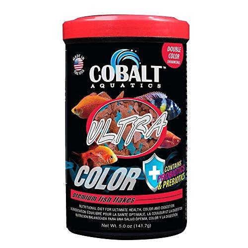 Cobalt Aquatics Ultra Color Flakes, 5 oz