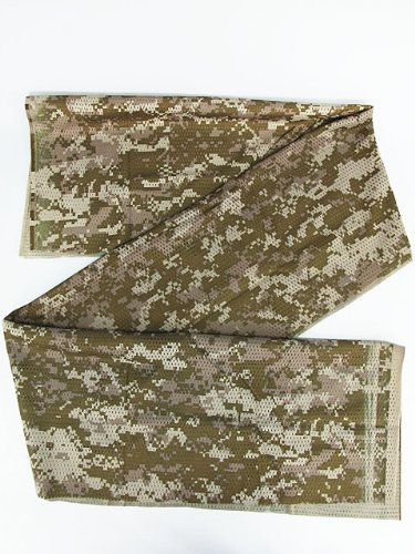 Airsoft USMC Army Scrim Scarf Face Veil Mask Digital Desert