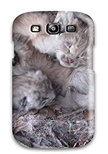 Top Quality Protection Lynx Pictures Case Cover For Galaxy S3