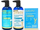 PURA D'OR Hair Thinning Therapy 3-piece Set, Shampoo, Conditioner &...