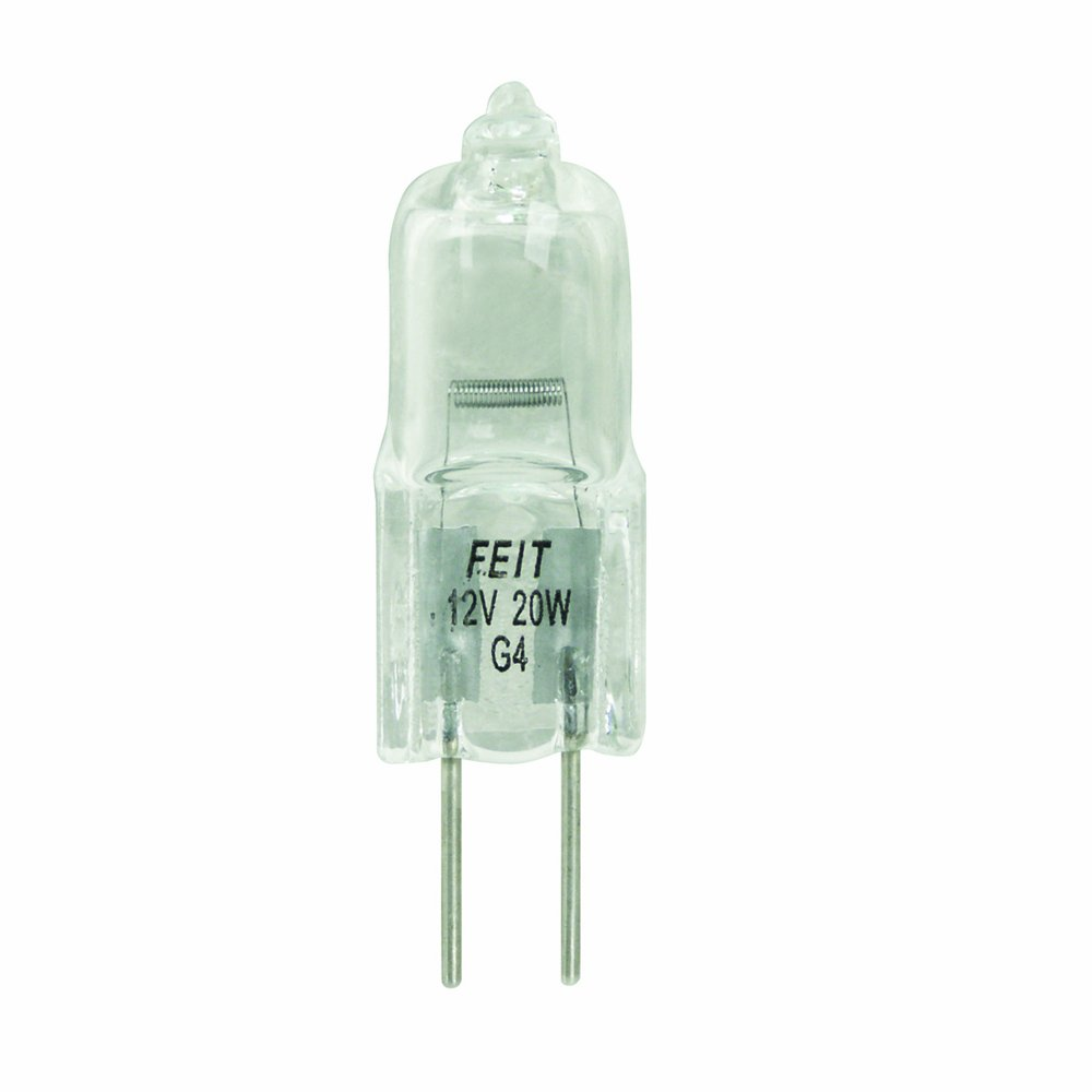Feit Electric BPQ20T3 20 Watt T3 Halogen Bulb with Bi Pin Base Clear