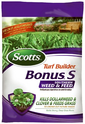 032247330206 - Scotts Turf Builder Bonus S Southern Weed & Feed Control Fertilizer, 10000 sq. ft. (Sold in select Southern states) carousel main 0