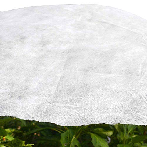 5.2'x20′ Garden W-40G Plant Protection Non-Weave Fabric Blanket Against Snow Frost Hail Insect