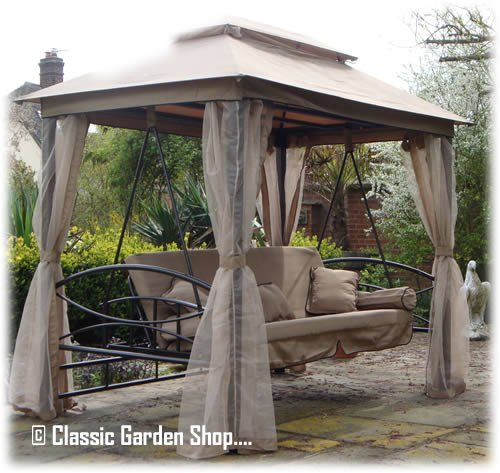 orlando luxury gazebo hammock swing bed  amazon co uk  garden  u0026 outdoors orlando luxury gazebo hammock swing bed  amazon co uk  garden      rh   amazon co uk
