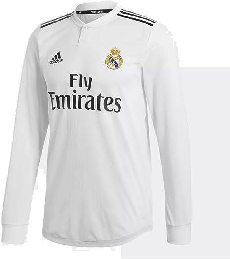 adidas 2018/19 Real Madrid - Camiseta de manga larga para ...
