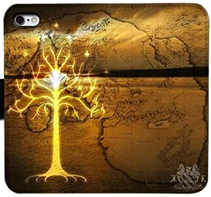 Grouden R Create and Design Folio Case,Lord Of The Rings Leather Wallet Cell Phone Case for iPhone 5 5S SE,GHL-1687942