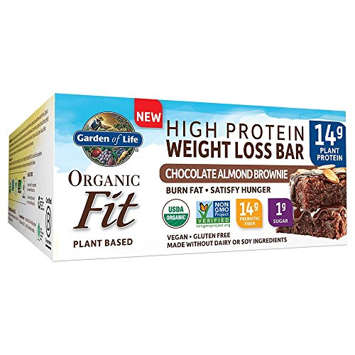 Garden of Life Organic Fit Bar Chocolate Almond Brownie (12 per carton)