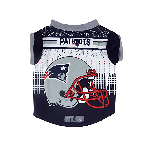NFL New England Patriots Pet Performace T-Shirt, ()