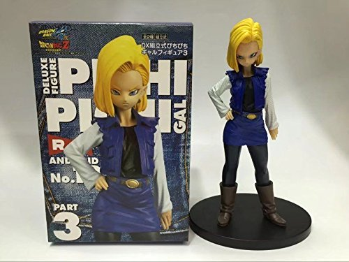 Indiana Jones Props For Sale (TONGROU Anime Z Kai Android No.18 Pichi Pichi GAL DX PVC Figure New In Box)