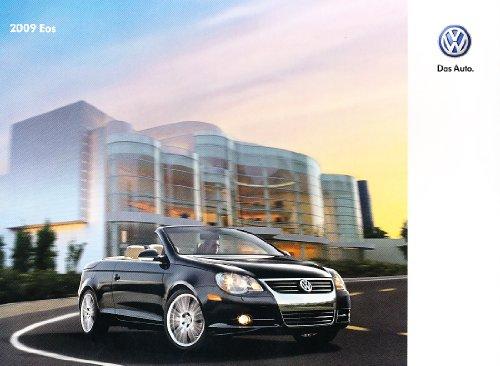2009-vw-volkswagen-eos-convertible-24-page-original-sales-brochure-catalog