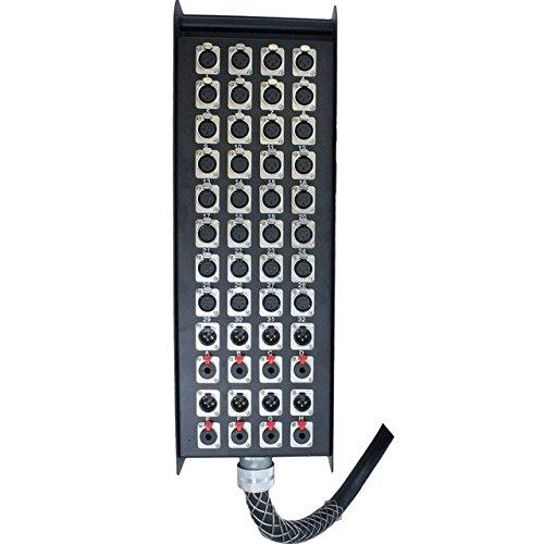 32x8x150 Pro Audio Stage Snake 32 XLR Channel with 8 XLR / TRS Returns 150 feet long by Yovus