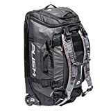 Push Paintball Division One Medium Roller Gear Bag W/ Grey Straps