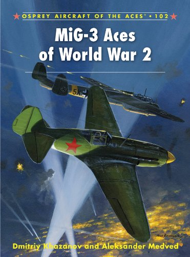 MiG-3 Aces of World War 2 (Aircraft of the Aces Book 102)